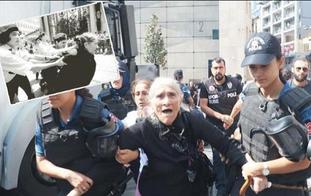 36bbb033 Innenriksminister Süleyman Soylu, som beordret angrepet på demonstrasjonen,  forsvarte politiets vold og anklaget mødrene, som lette etter sine barn, ...