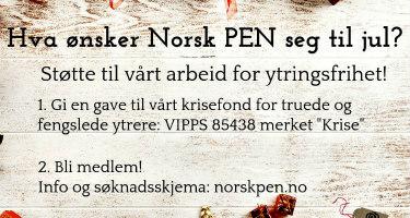 Norsk PENs ønskeliste til jul