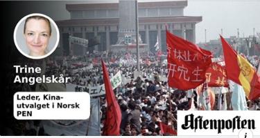 Demonstrantene på Den himmelske freds plass kjempet for grunnleggende menneskerettigheter