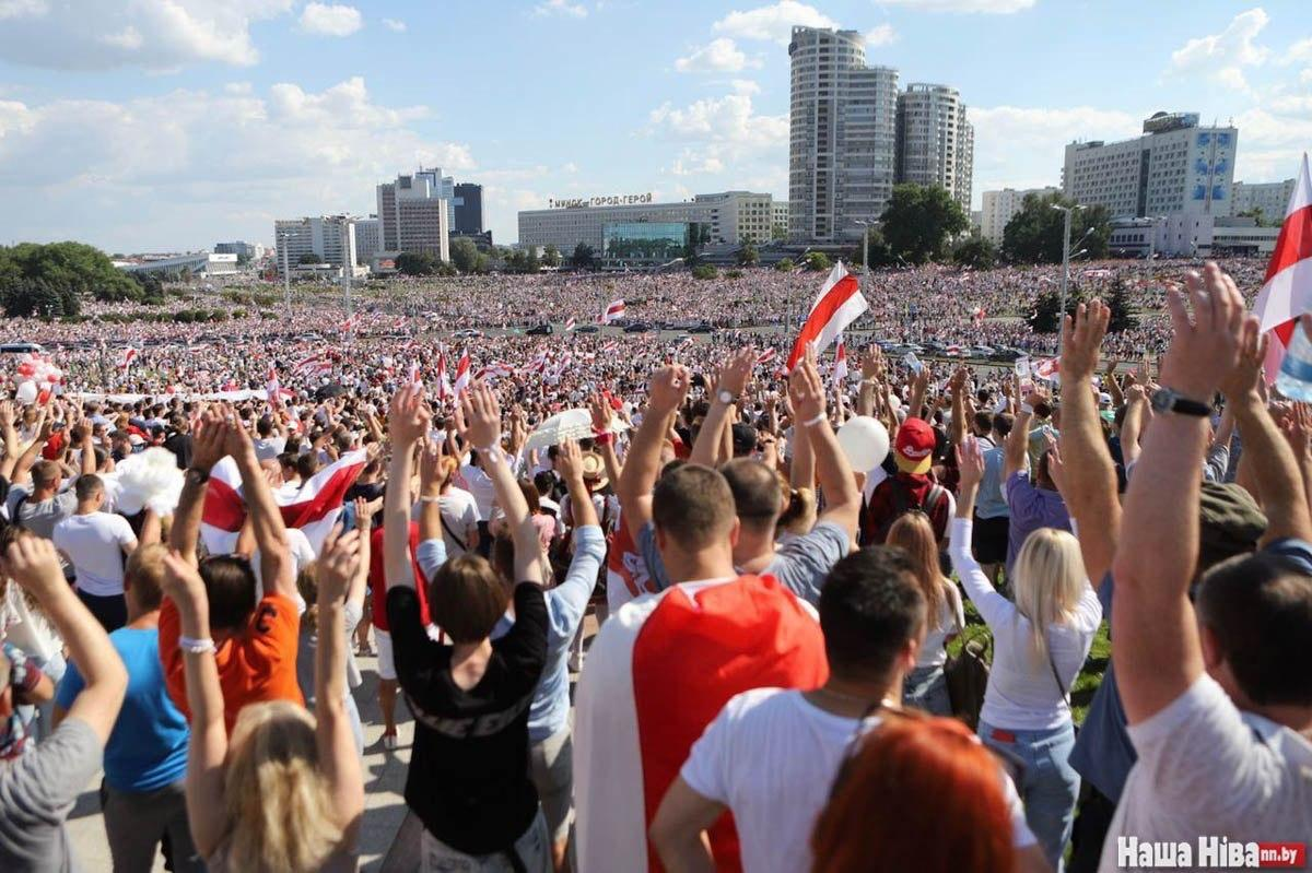 Opprop til støtte for ytringsfrihet og demokrati i Hviterussland