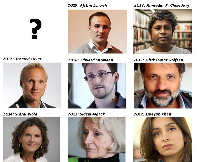 Hvem fortjener Ossietzkyprisen i 2020?