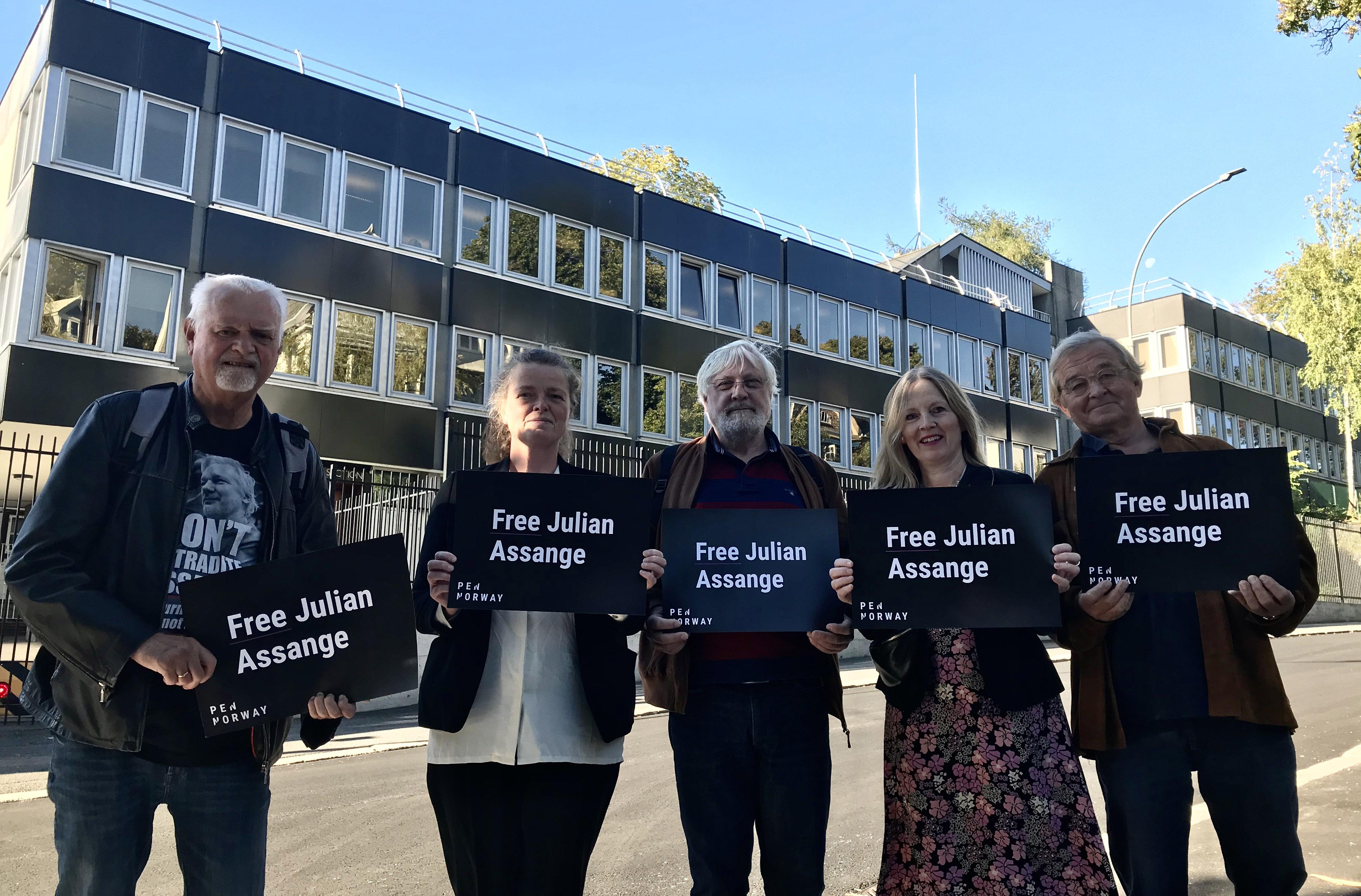 Oppsummering: Første dag i rettssaken mot Julian Assange
