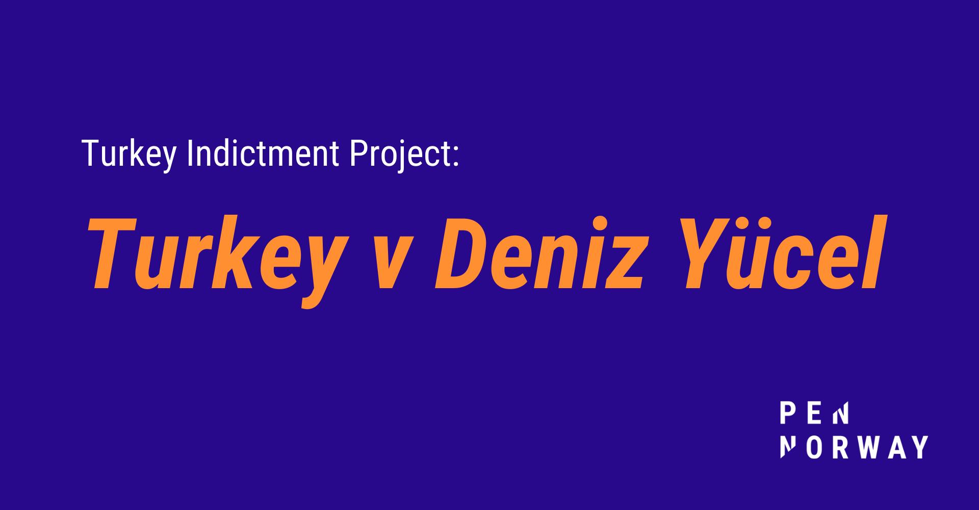 Evaluation of 'Turkey v Deniz Yücel'