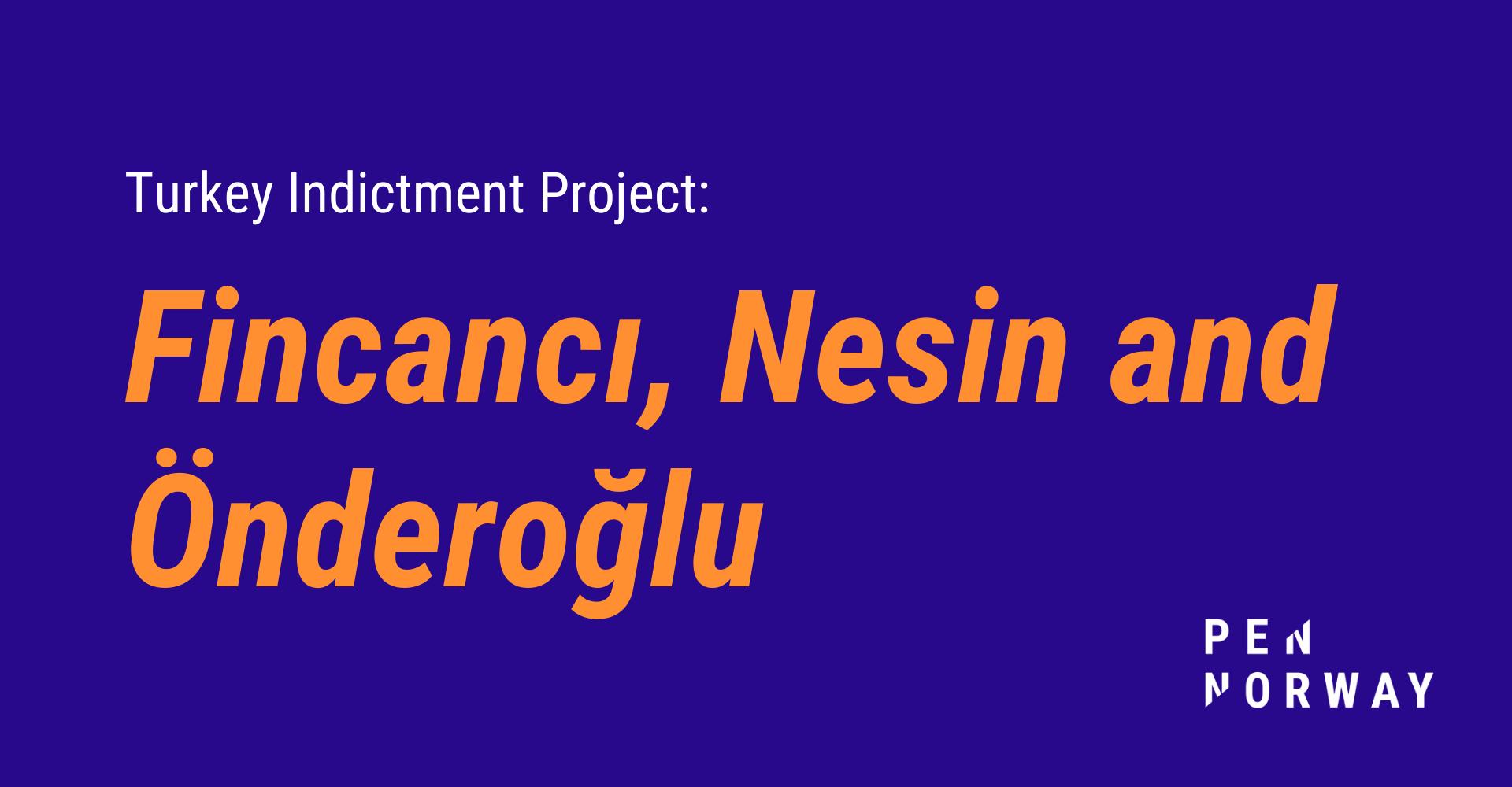 Turkey v. Fincancı, Nesin and Önderoğlu