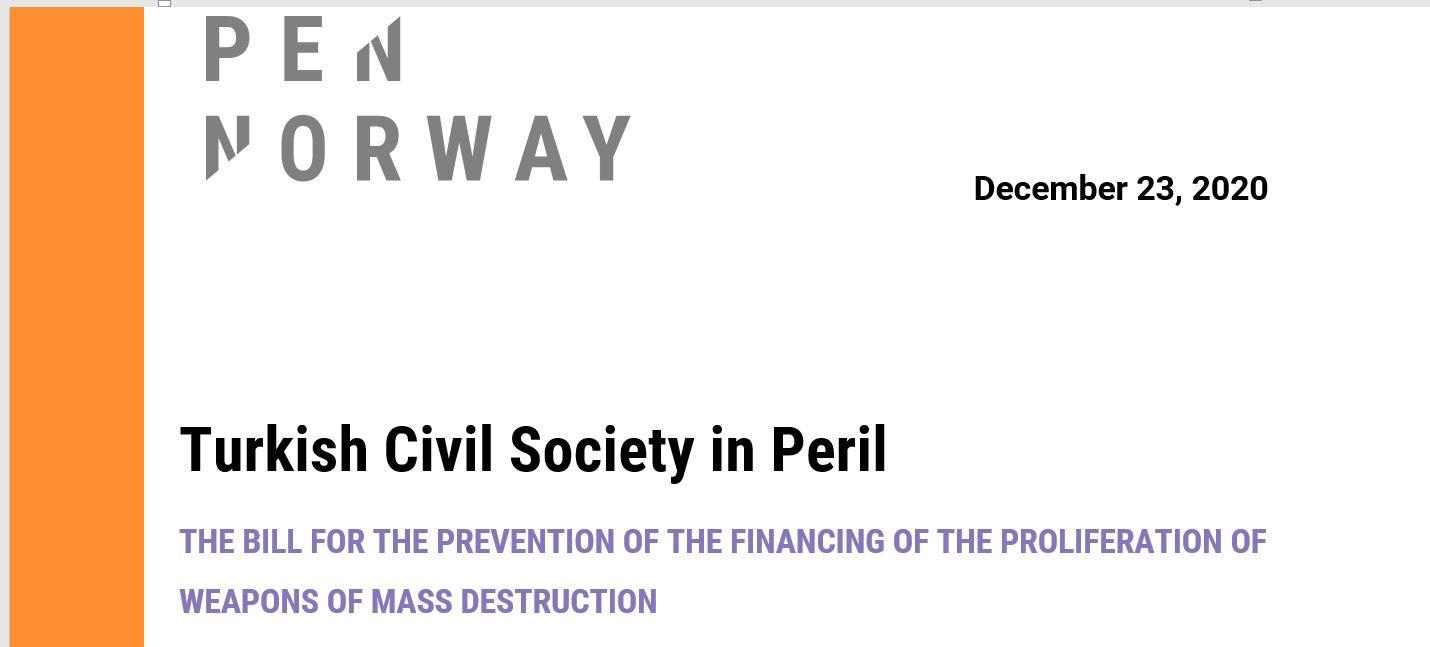 Turkish Civil Society in Peril